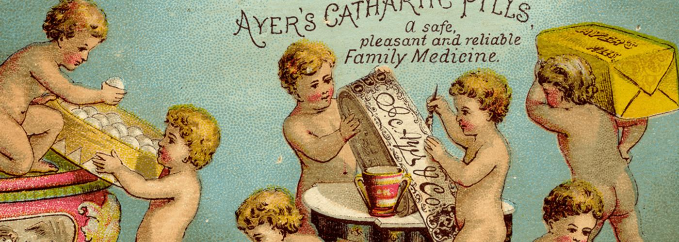 Ayer's Cathartic Pills, a safe, pleasant and reliable Family Medicine